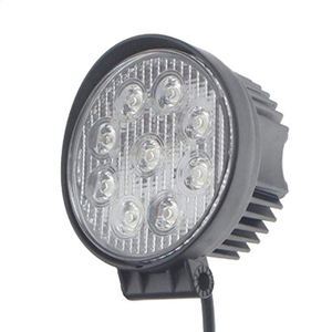 Ip 68 led work light flood beam for jeep 7inch bar