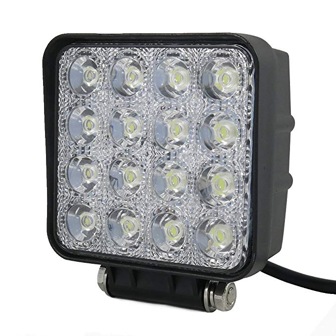 4 foot led work light 30+6 rechargeable & torch li-ion 3 panel