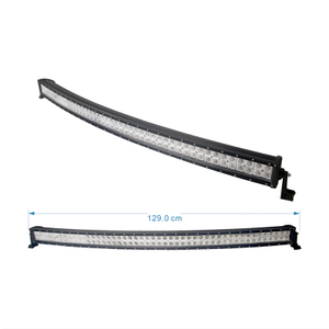50inch led light bar gmc sierra glare gutter mount