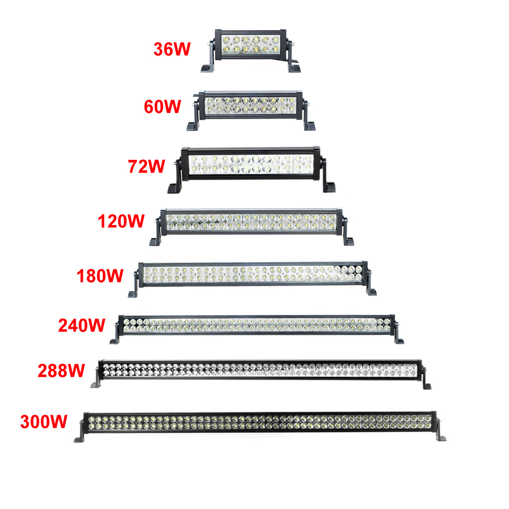 "300w 52 inch 52"" led light bar offroad light bar"