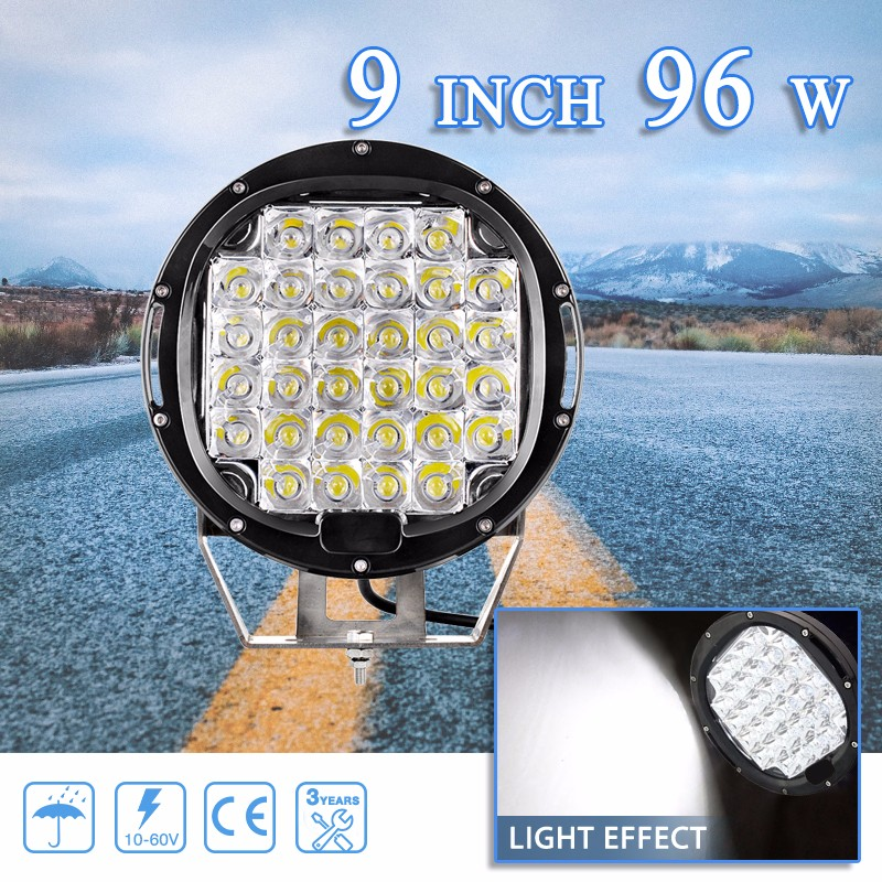 Hot new products car work light 7inch led 72w bar