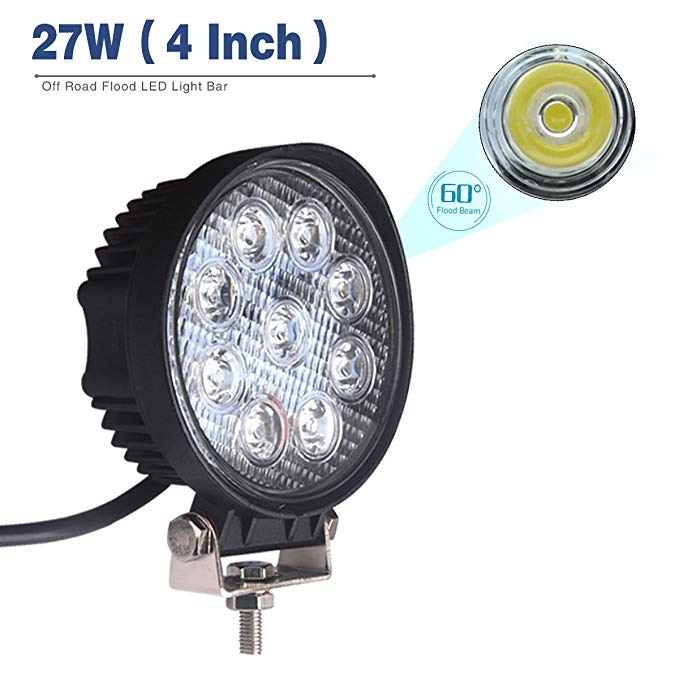 EMARK27w 42wRoundSquare 100% high quality led work lamp