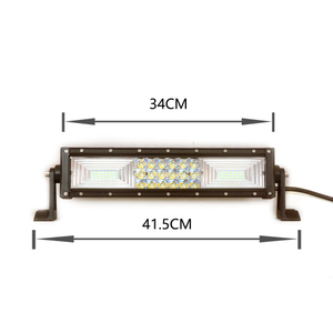foshan supply10 w180W 120 w3 triple row small led light bar